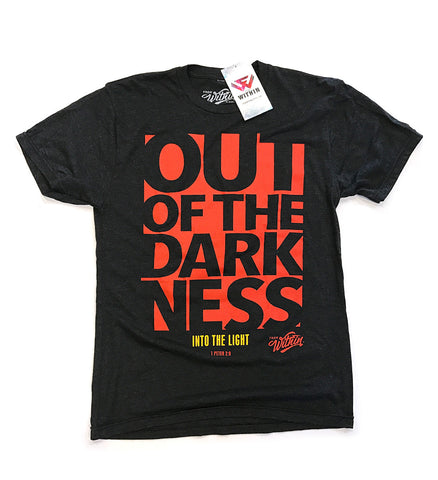 Out Of The Darkness T Shirt - Black