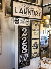 Custom Laundry Sign