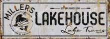 Custom Lakehouse Sign