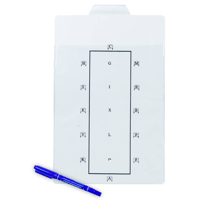 Test Learner Dry Erase Board