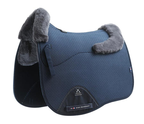 Air-Teque Shockproof Merino European Saddle Pad - Dressage