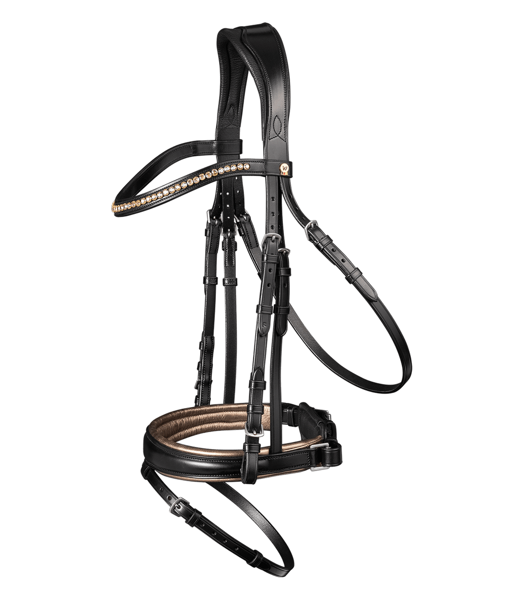 S-Line Bronze Snaffle Bridle