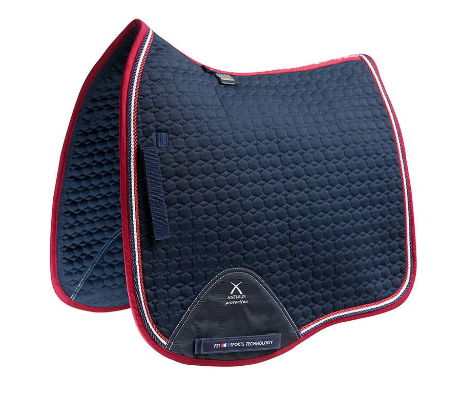 European Cotton Saddle Pad - Dressage