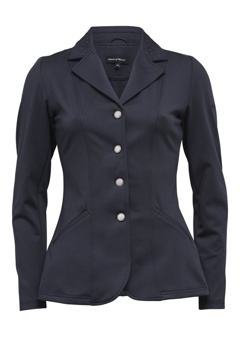 Puk Navy Zip Show Coat