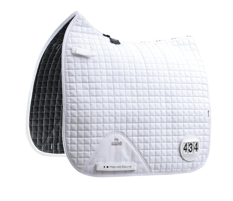 Dressage Competition Pad with Numbers