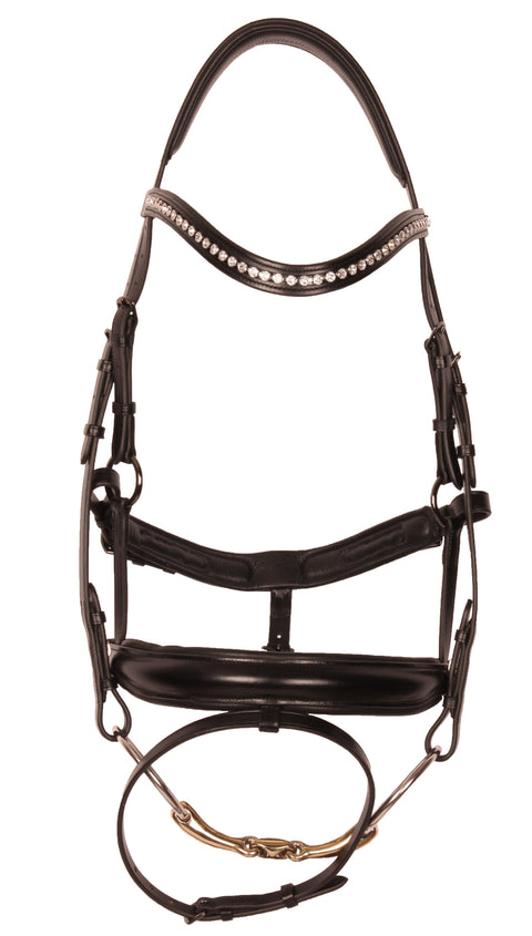 Special Snaffle Bridle - Black