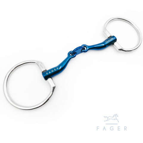 Carl Titanium Fixed Snaffle