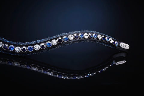 Crystal Fabric II Classic Browband