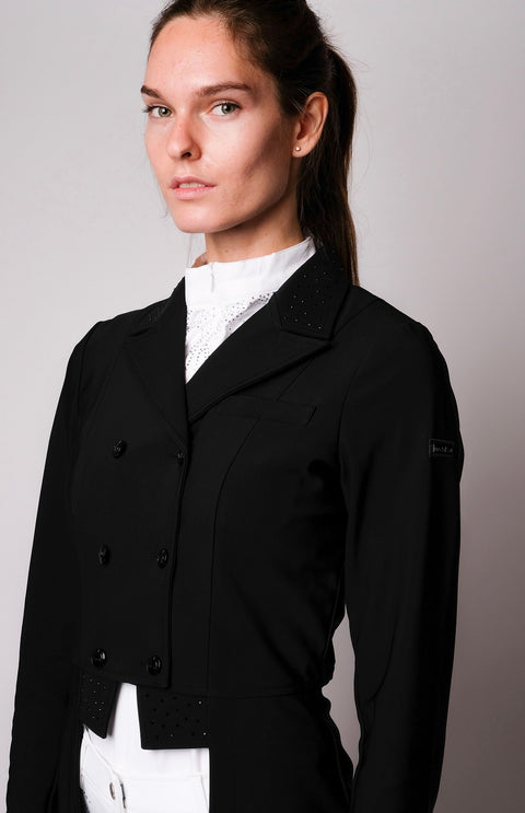Krista Long Black Tailcoat