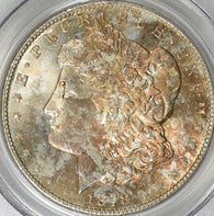 1878-S Morgan Silver Dollar PCGS MS-64 Toned