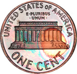 2006-S Lincoln Memorial Penny BU Proof Rainbow Color Toned Gem!!!