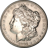 1904 Silver Morgan Dollar Choice BU MS Condition Blast White