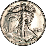 1946 Walking Liberty Half Dollar Choice BU MS Condition Blast White