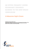 "Welsh ""A Midsummer Night's Dream"" Curriculum Resource"