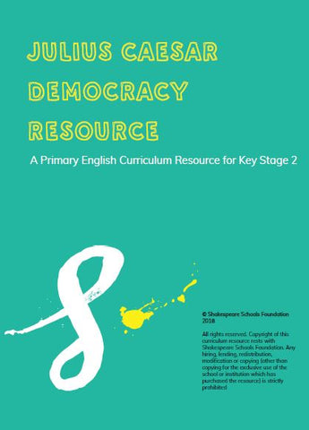 Citizenship and Democracy - Primary Scheme of Work £40+VAT