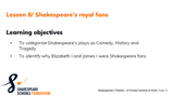 Shakespeare's Theatre - Primary History Scheme of Work £65.00 +VAT