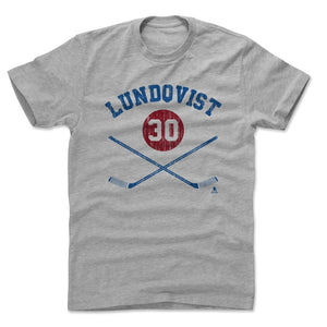 Henrik Lundqvist Men's Cotton T-Shirt | 500 LEVEL