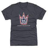 Henrik Lundqvist Logo YW WHT - The Crown Collection