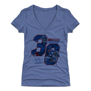 Henrik Lundqvist Women's V-Neck T-Shirt | 500 LEVEL