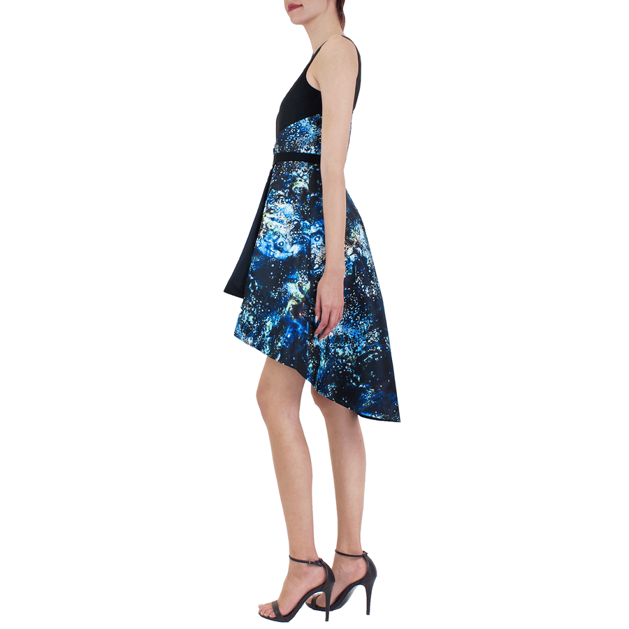Blue Galaxy Carina Dress