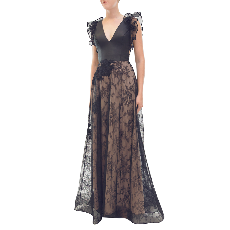 Black Elliot Gown