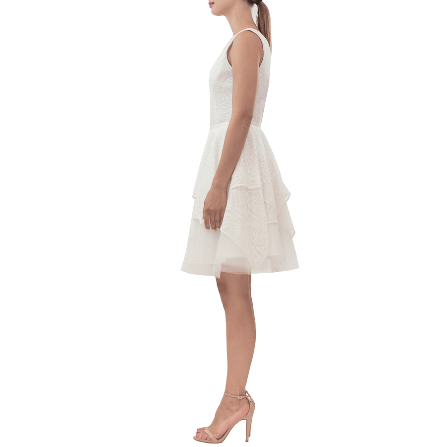 Ivory Arrow Dress