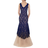 Navy Lolace Gown