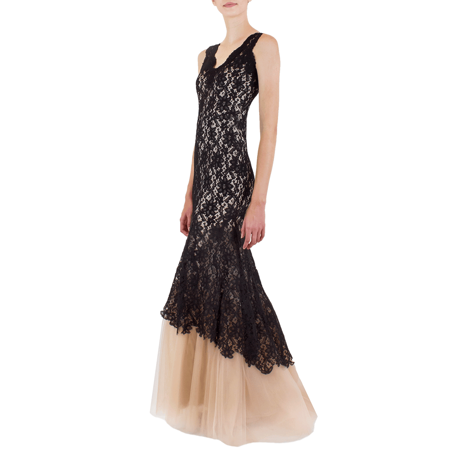 Black Lolace Gown