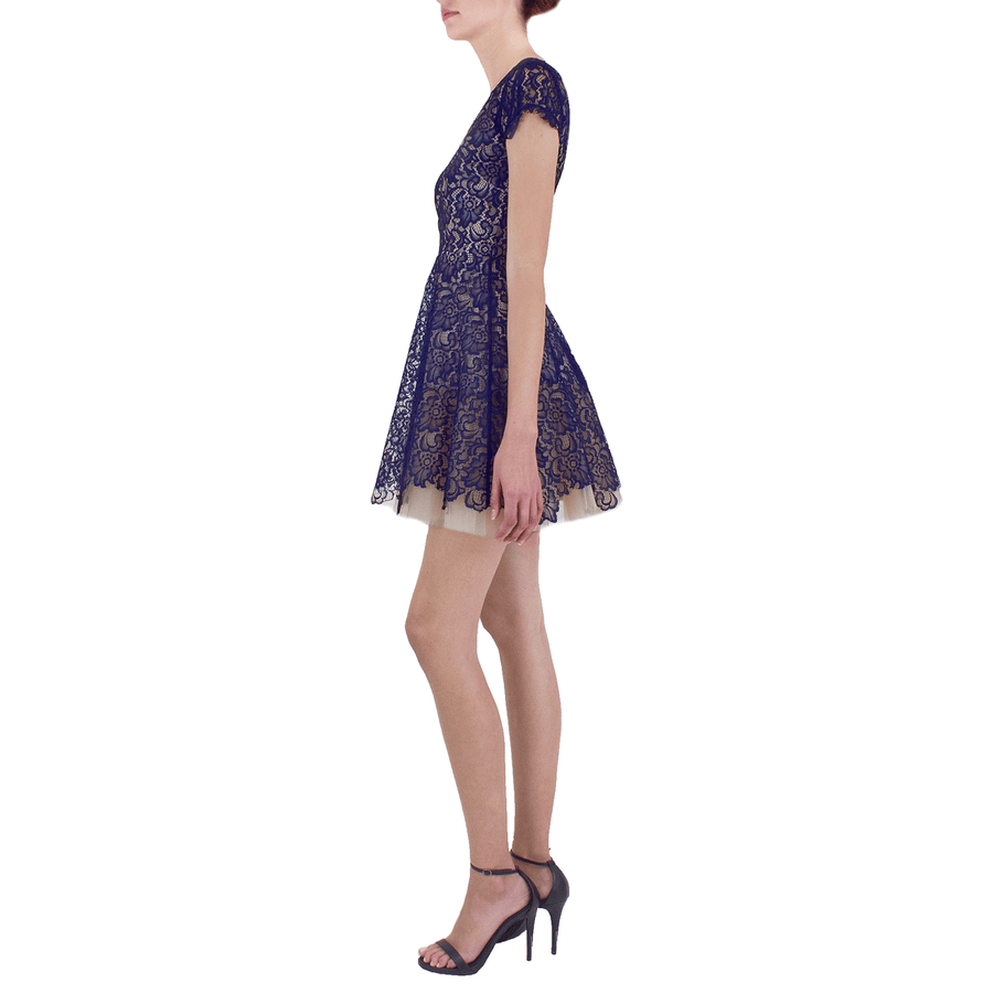 Navy Caelyn Dress