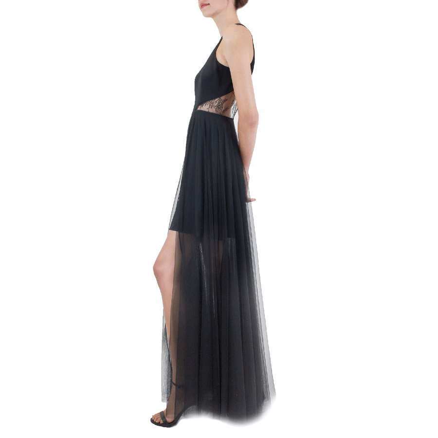 Black Nero Gown