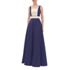 Navy Phoebe Gown