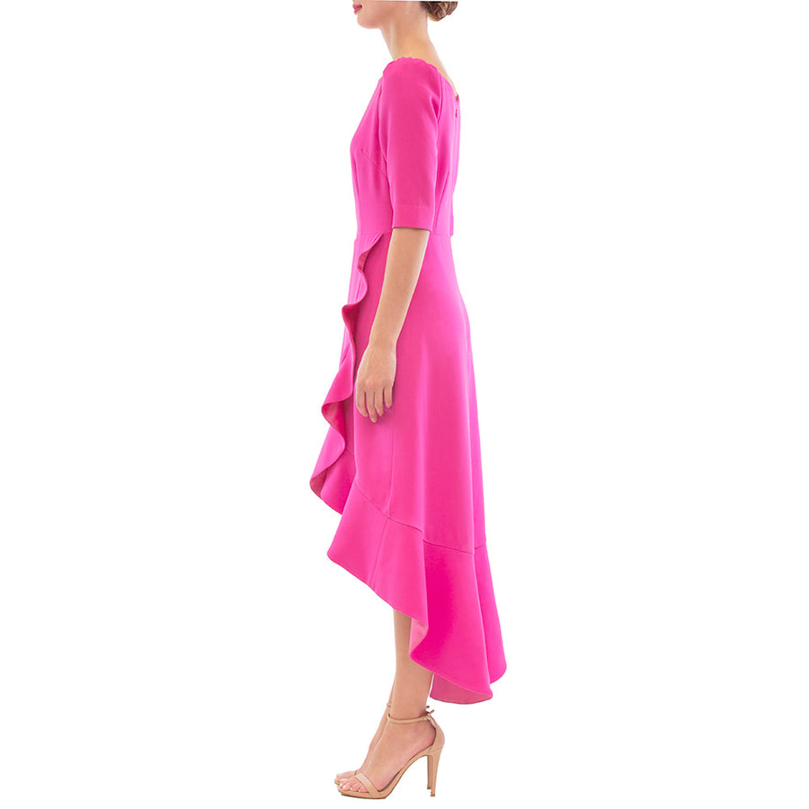 Hot Pink Cerise Dress