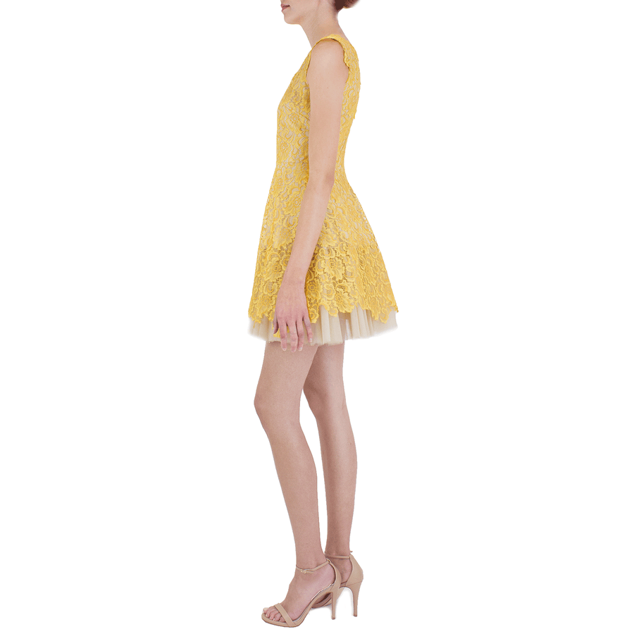 Yellow Caelyn Dress