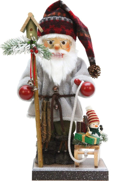 Nutcracker -Santa with Sled