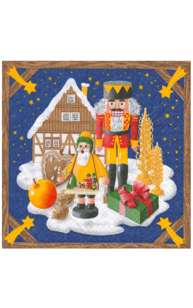 Napkins - Christmas Motif - Set of 20