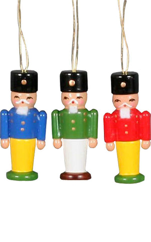 Hanging Ornament - Nutcrackers (Set of 2)