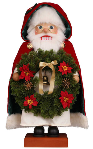 Nutcracker - Santa with Wreath