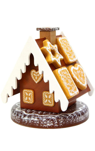 German Smoker-Gingerbread House