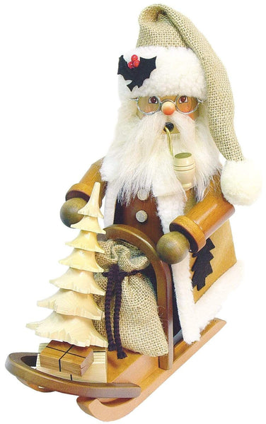 German Smoker- Santa On Sleigh