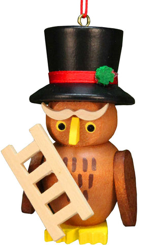 Hanging Ornament - Owl Chimneysweep