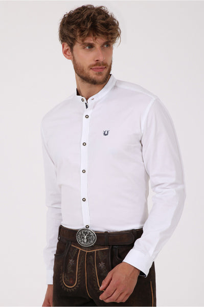 Andreas  White  Men's Shirt