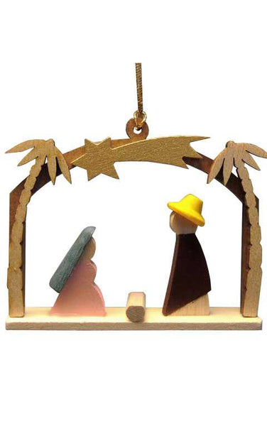 Ornament - Colorful Nativity