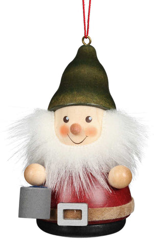 Hanging Ornament - Gnome With Bucket