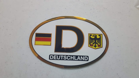 decal Deutschland License Plate Seal| MyDirndl.Com™