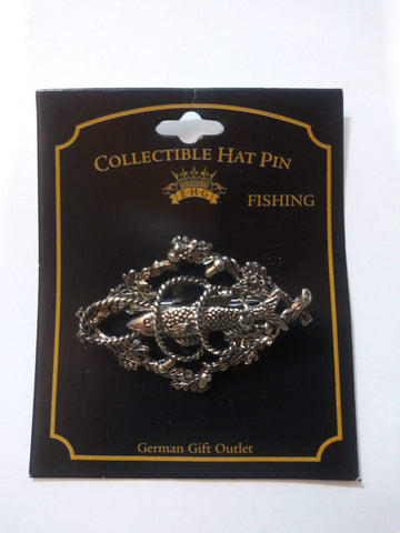 hatpin Fish with Acorns| MyDirndl.Com™
