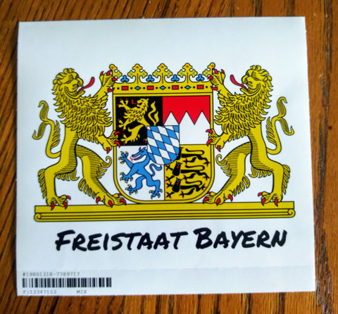 decal Freistaat Bayern