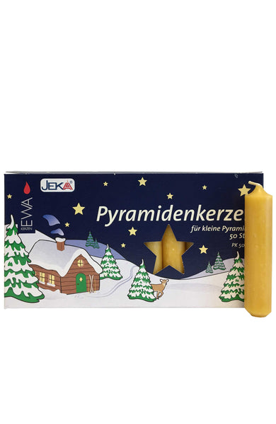German Candle for Pyramids - Natural #29314N