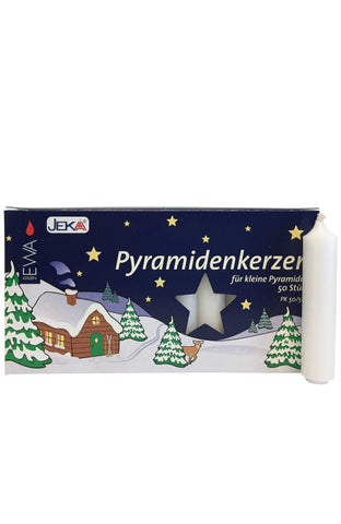 German Candle for Pyramids - White #29314W