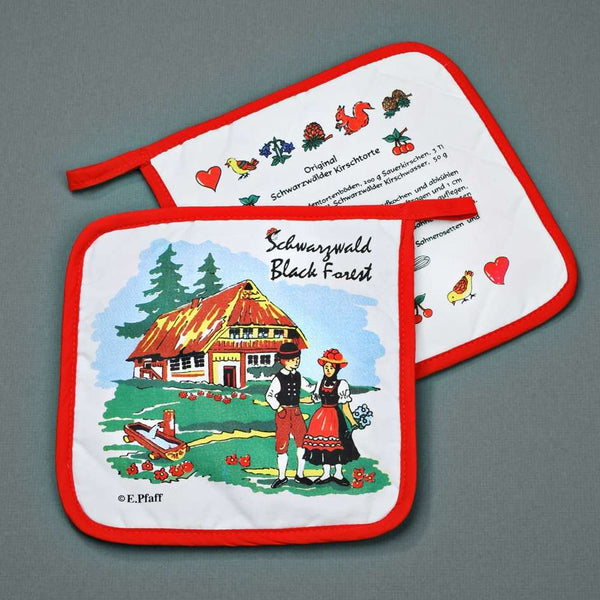 potholder Blackforest