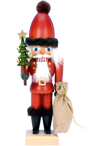 Nutcracker - Santa with Tree and Sack